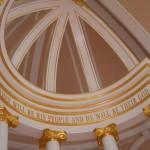 Detalle de la cupula terminada e instalada