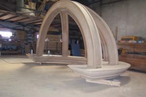 Fabricando la cupula